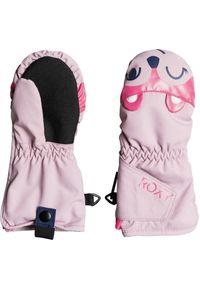 Roxy - ROXY Rękawice dziecięce SNOW'S UP Dawn Pink