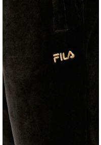 Czarne spodnie dresowe Fila