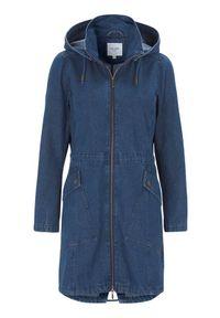 Niebieska kurtka Cellbes ze stójką, z aplikacjami