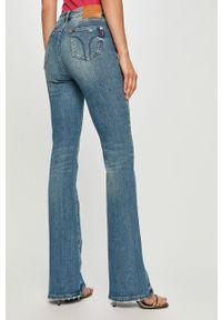 Niebieskie jeansy bootcut Miss Sixty klasyczne