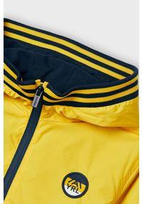 Żółta kurtka Mayoral z kapturem, na co dzień, casualowa