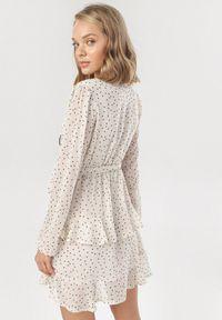 Beżowa sukienka mini Born2be
