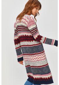 Wielokolorowy sweter rozpinany Answear Lab wakacyjny