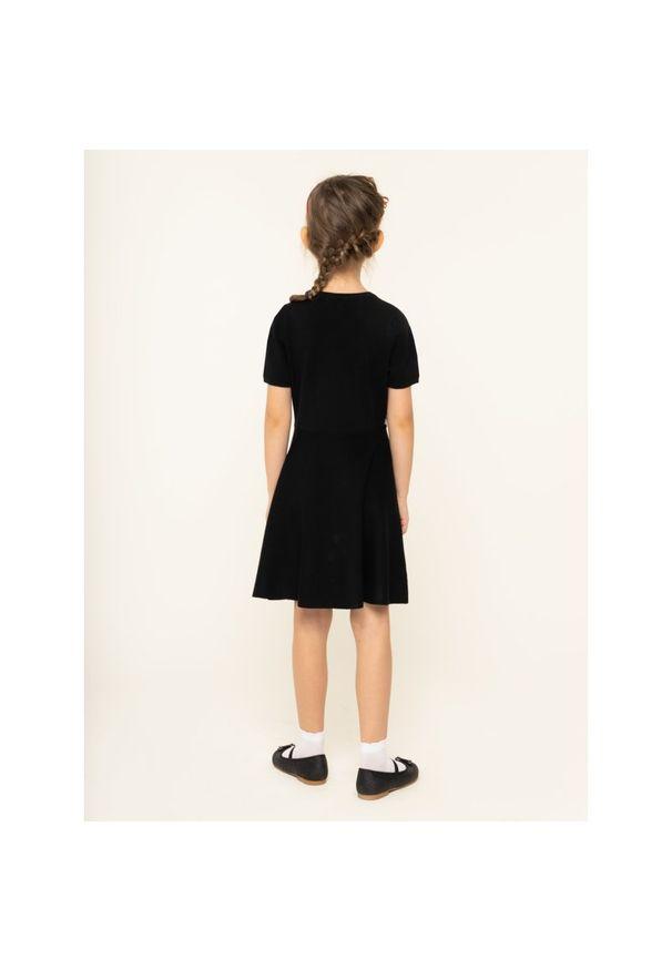 Czarna sukienka TwinSet prosta, na co dzień, casualowa