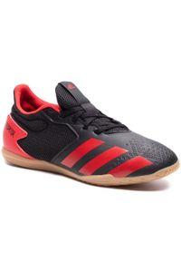 Czarne halówki Adidas z cholewką