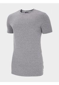 outhorn - T-shirt męski. Materiał: bawełna, poliester