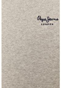 Szara sukienka Pepe Jeans z długim rękawem, prosta, casualowa, na co dzień #5