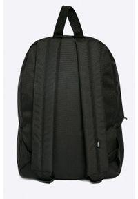 Czarny plecak Vans z aplikacjami