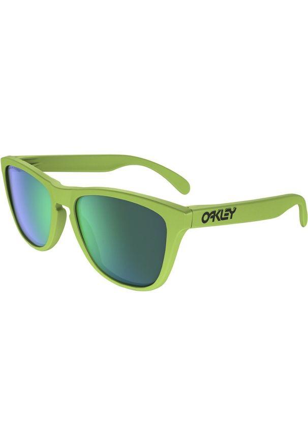 Zielone okulary przeciwsłoneczne Oakley