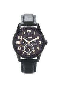 Czarny zegarek Royal London elegancki