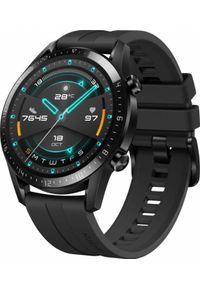 HUAWEI - Smartwatch Huawei Watch GT 2 Sport 46mm Czarny (55024474). Rodzaj zegarka: smartwatch. Kolor: czarny. Styl: sportowy