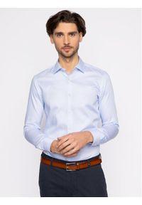 Niebieska koszula biznesowa BOSS
