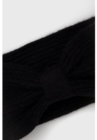 Vero Moda - Opaska. Kolor: czarny. Materiał: poliester