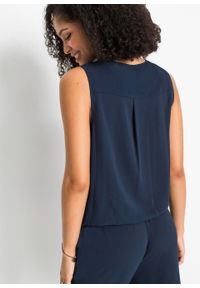 Niebieski kombinezon bonprix elegancki