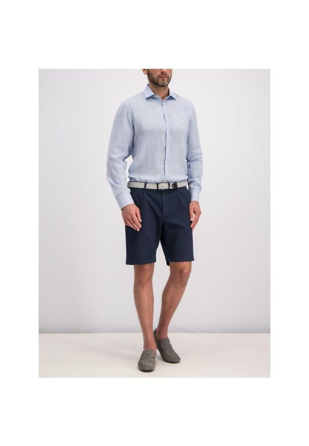 Niebieska koszula casual Trussardi Jeans