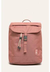 Różowy plecak Lefrik w paski