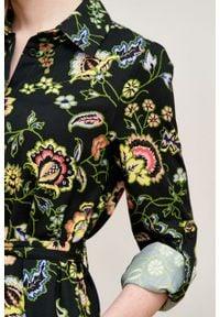 Marie Zélie - Sukienka Eliza Pictus. Materiał: bawełna, wiskoza. Długość rękawa: długi rękaw. Typ sukienki: szmizjerki. Styl: klasyczny