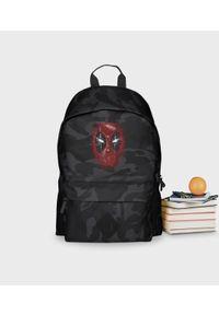 MegaKoszulki - Plecak moro Deadpooline. Materiał: poliester. Wzór: moro