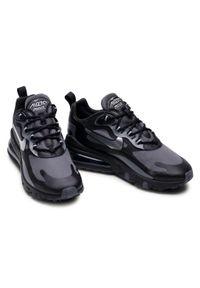 Czarne półbuty Nike casualowe, na co dzień, z cholewką #8