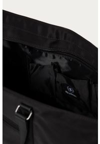Czarna torba Strellson gładkie