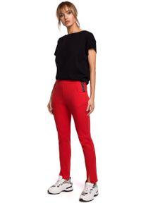 Czerwone spodnie dresowe MOE