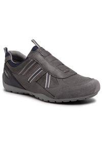Geox Sneakersy U Ravex B U043FB 0PTEK C1006 Szary. Kolor: szary