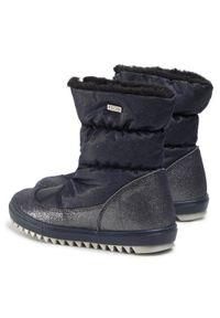 Bartek - Śniegowce BARTEK - 67405L-S1W Granatowy. Kolor: niebieski. Materiał: zamsz, materiał, skóra. Szerokość cholewki: normalna