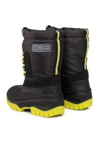 Czarne buty zimowe CMP na spacer