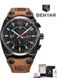 Zegarek BENYAR Blackbird czarny-czerwony (BY5112). Kolor: czarny, czerwony, wielokolorowy