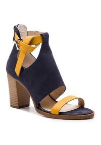 Niebieskie sandały Sergio Bardi casualowe, na co dzień