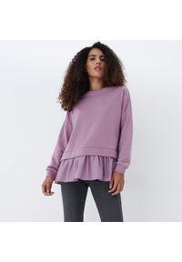 Mohito - Bluza z koszulą - Fioletowy. Kolor: fioletowy