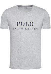 Polo Ralph Lauren T-Shirt Crw 714830278005 Szary Regular Fit. Typ kołnierza: polo. Kolor: szary