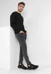 Born2be - Czarny Sweter Z Wełną Appesilea. Kolor: czarny. Materiał: wełna. Styl: klasyczny