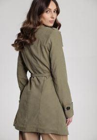Renee - Zielony Płaszcz Diolophi. Kolor: zielony