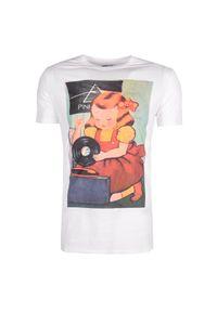 T-shirt Xagon Man casualowy, na co dzień, z okrągłym kołnierzem