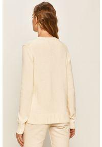 Kremowy sweter Polo Ralph Lauren na co dzień, polo