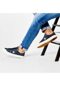 Niebieskie buty skate Converse