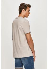 Szary t-shirt Only & Sons casualowy, na co dzień