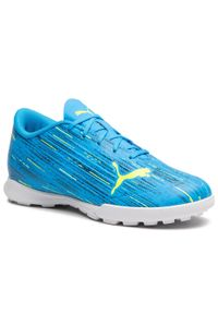 Niebieskie buty do piłki nożnej Puma