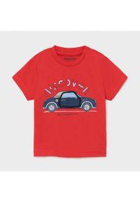 Mayoral T-Shirt 1006 Czerwony Regular Fit. Kolor: czerwony