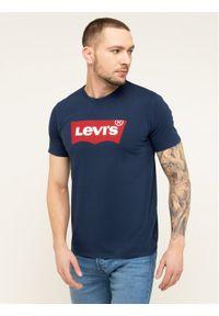 Levi's® T-Shirt Housemark Tee 17783-0139 Granatowy Regular Fit. Kolor: niebieski