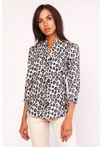 Koszula Lanti z motywem zwierzęcym, elegancka