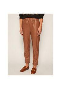 Brązowe spodnie TwinSet
