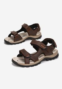 Born2be - Brązowe Sandały Ephephaeia. Kolor: brązowy