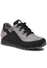 Szare buty trekkingowe Nik z cholewką