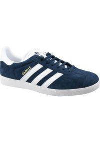 Niebieskie sneakersy Adidas z cholewką, Adidas Gazelle