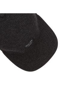 Czarna czapka z daszkiem Salewa