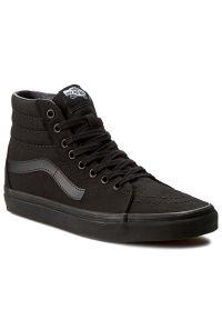 Czarne sneakersy Vans z cholewką, Vans SK8