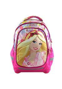 Barbie Plecak szkolny , pokolorowane motywem lalki. Wzór: kwiaty