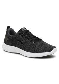 Bagheera - Sneakersy BAGHEERA - Flow 86447-6 C0102 Black/Dark Grey. Okazja: na co dzień. Kolor: czarny. Materiał: materiał. Szerokość cholewki: normalna. Styl: klasyczny, casual
